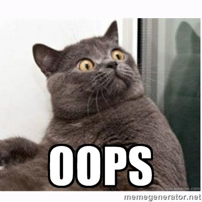 oops cat1