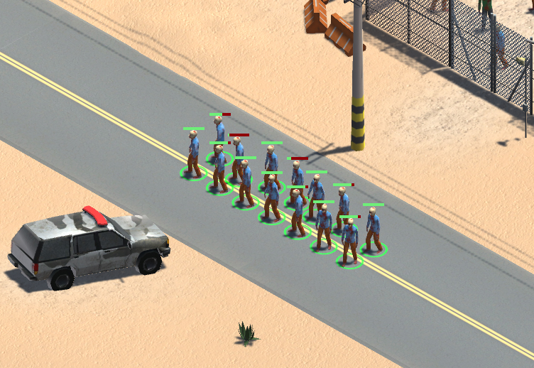 dead army formation