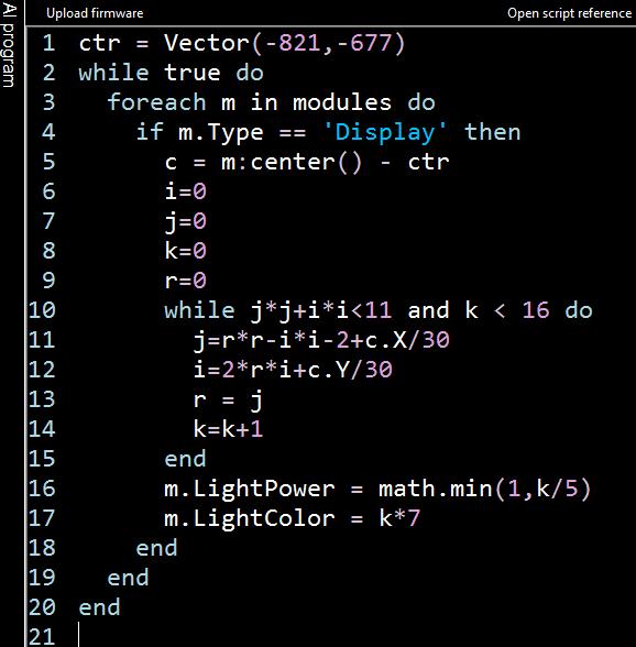 madlebrot code