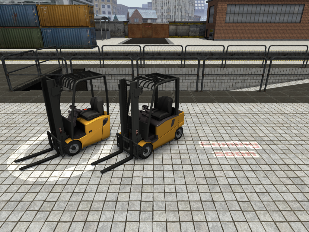 Fork Truck Challenge: New selection menu