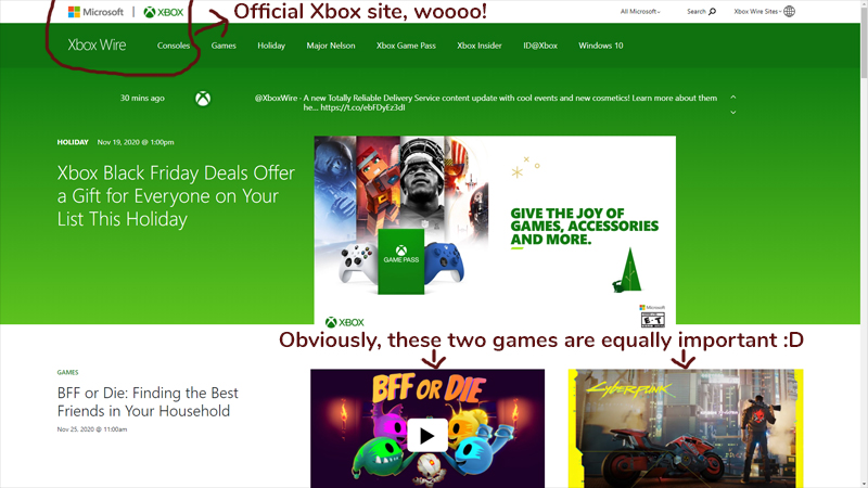 BFF or Die on Xbox