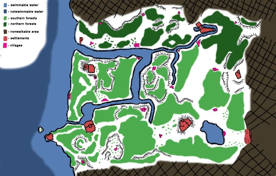 The Fallen Chronicler Concept Map ©