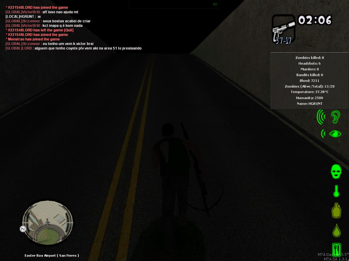 MTA DayZ World Dead Server (FIRST SCREENSHOT) image - HGRUNT95 - Indie DB