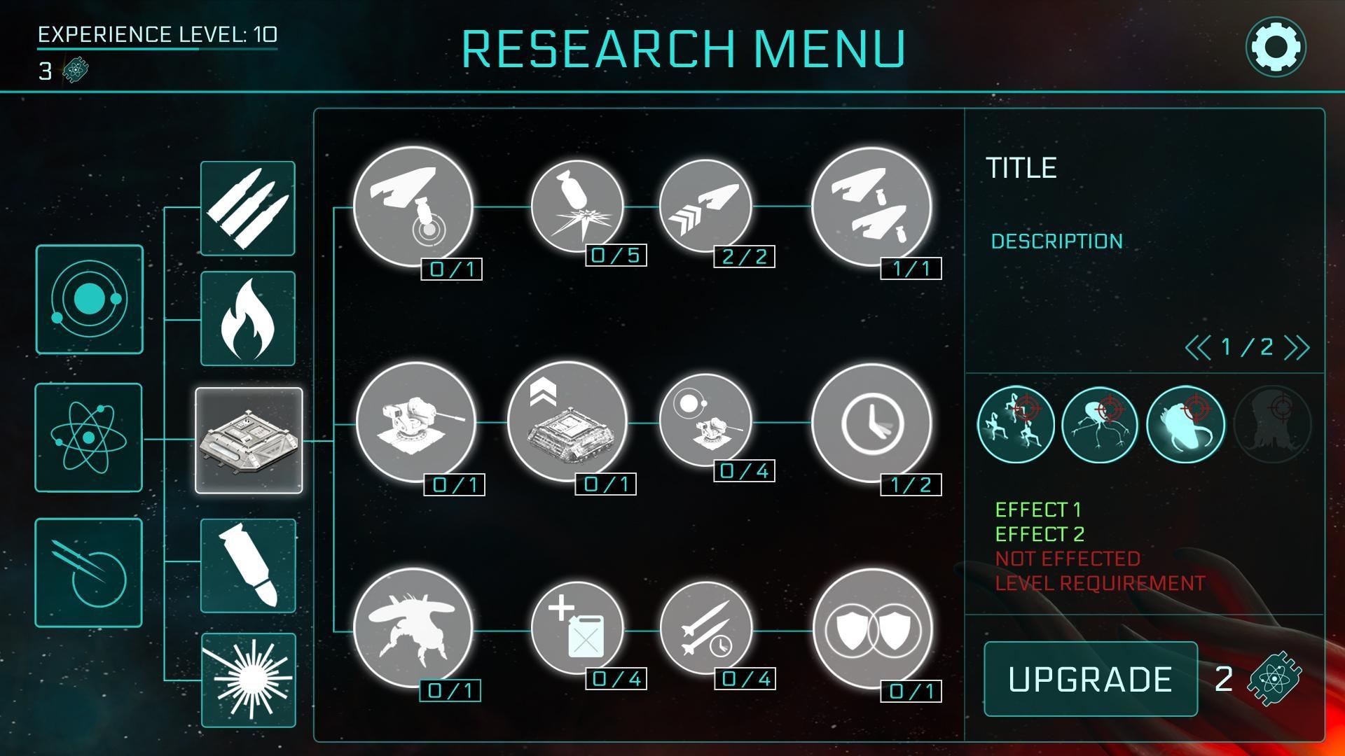 2112TD Research Menu Update