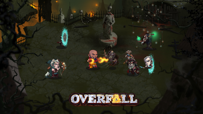 Monk Hunter Riftstalker vs Undead at Overfall