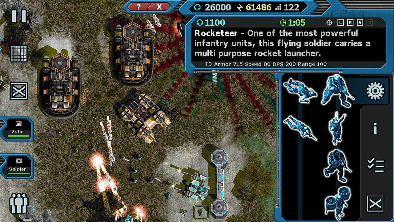 Machines at War 3 Windows, Mac, iOS, iPad, Android, AndroidTab game