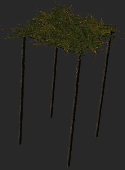 33 Teto com folhas