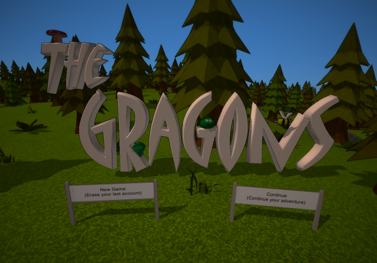 Update 1# Introducting The Gragons