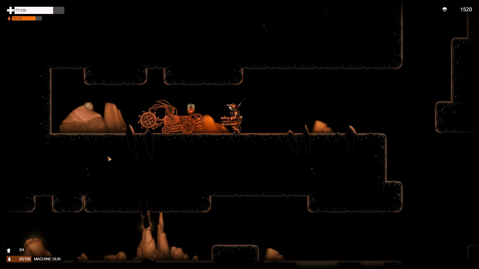 Demo contains two levels functional upgrades for 3 weapon types ammo
