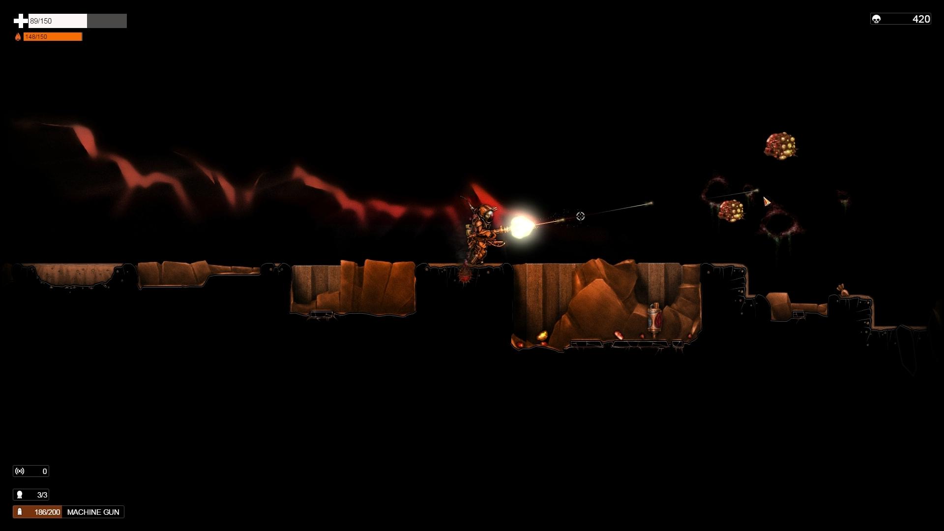 Orange Moon screenshot1