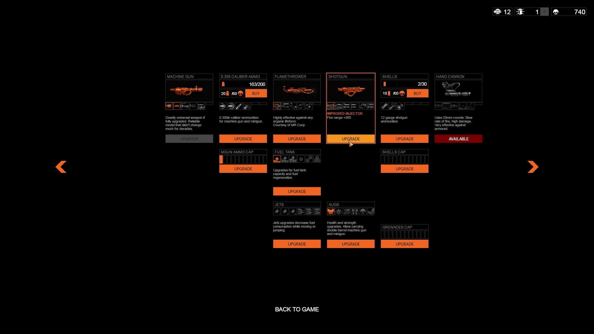 Orange Moon screenshot2