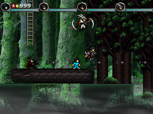 Reize from Shovelknight fame is also playable!