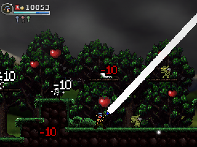 To execute your Special, simply Press Down, then Forward, then Attack! For this particular character after you absorb a ton of enemy projectiles you can unleash a super powered beam attack that spins around and wipes the entire screen clean of enemies!