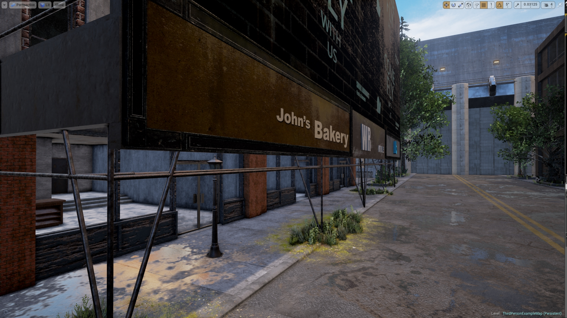 ThePrisonGame   Unreal Editor 20 31