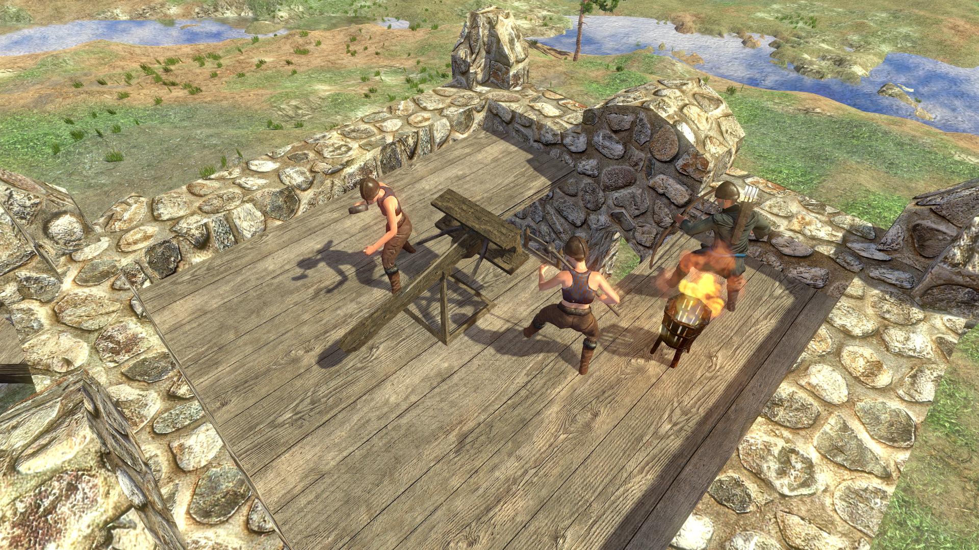 Siege defences