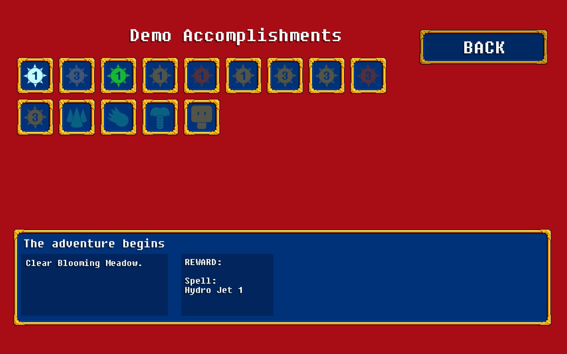 Demo Accomplishments1