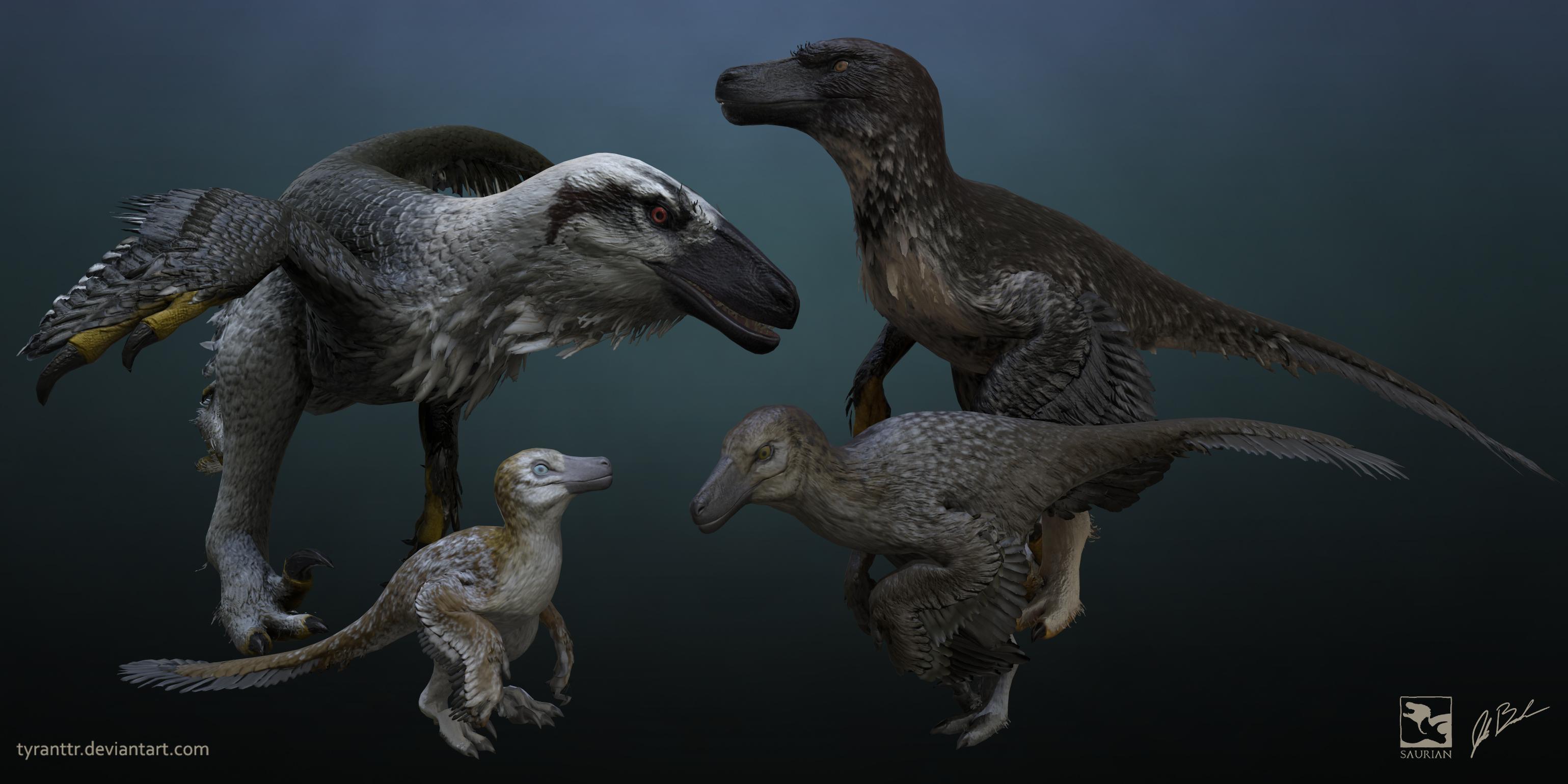 Dakotaraptor Render