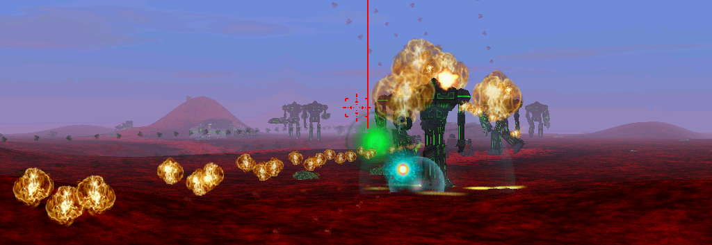 Megalith fire and flames