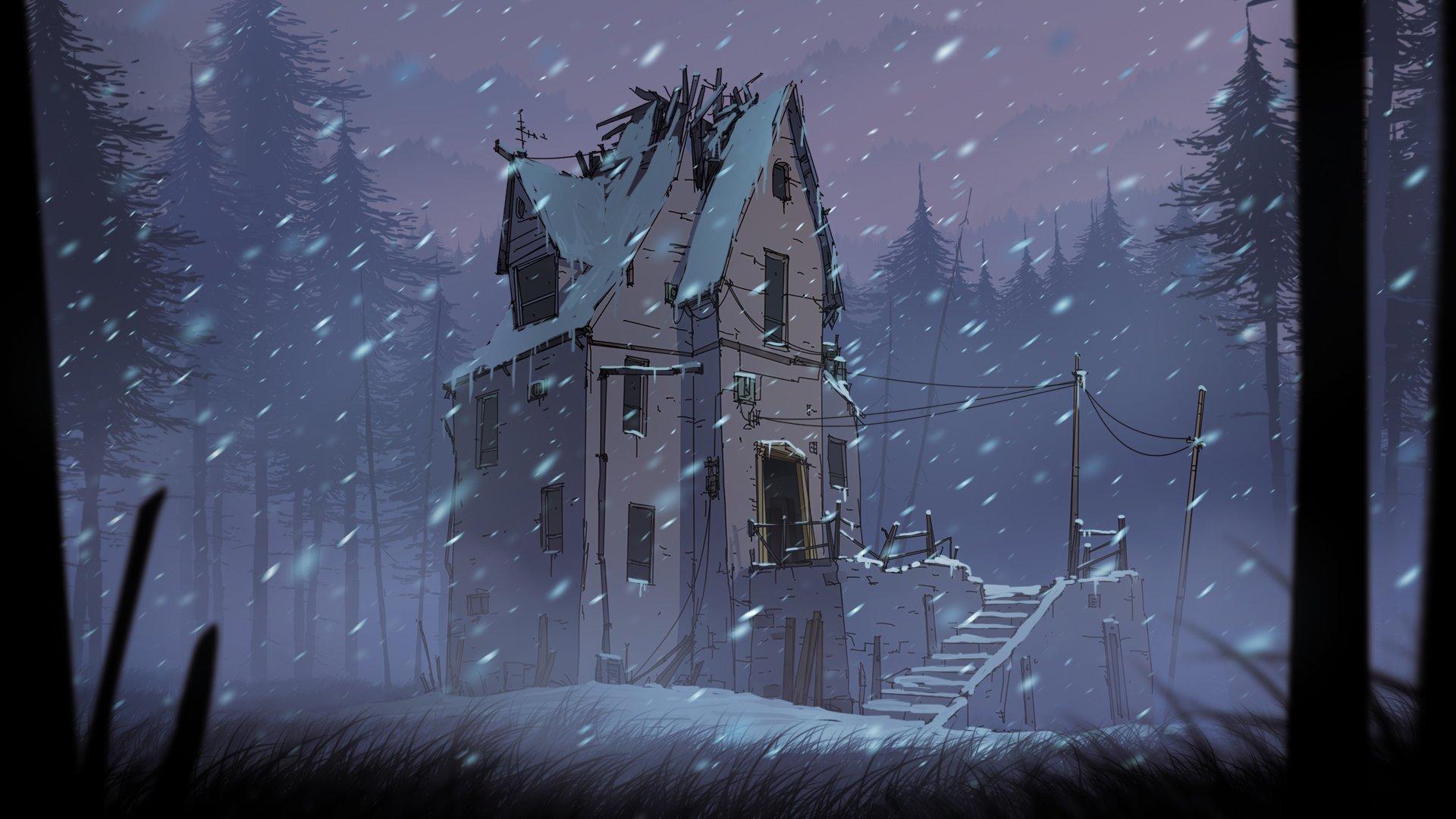 Yelltown in Winter