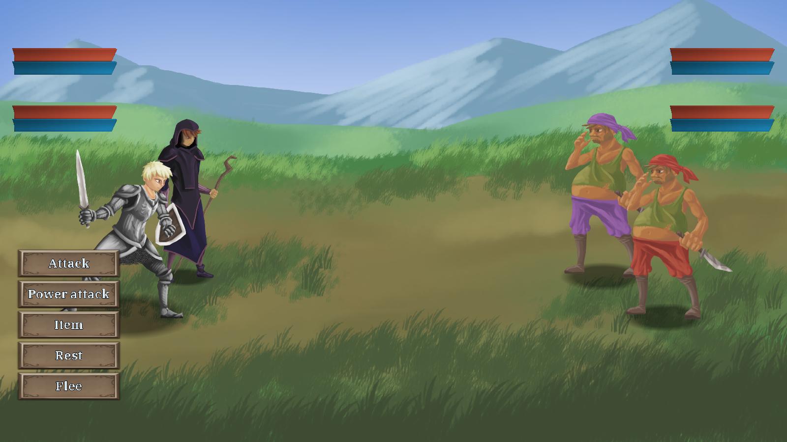 Tales of Vastor - Fights
