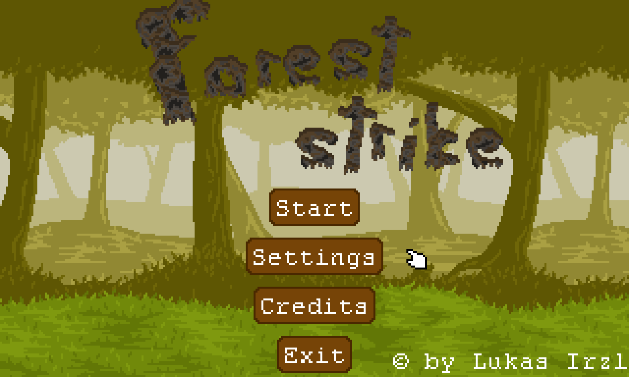 Forest Strike - New GUI buttons