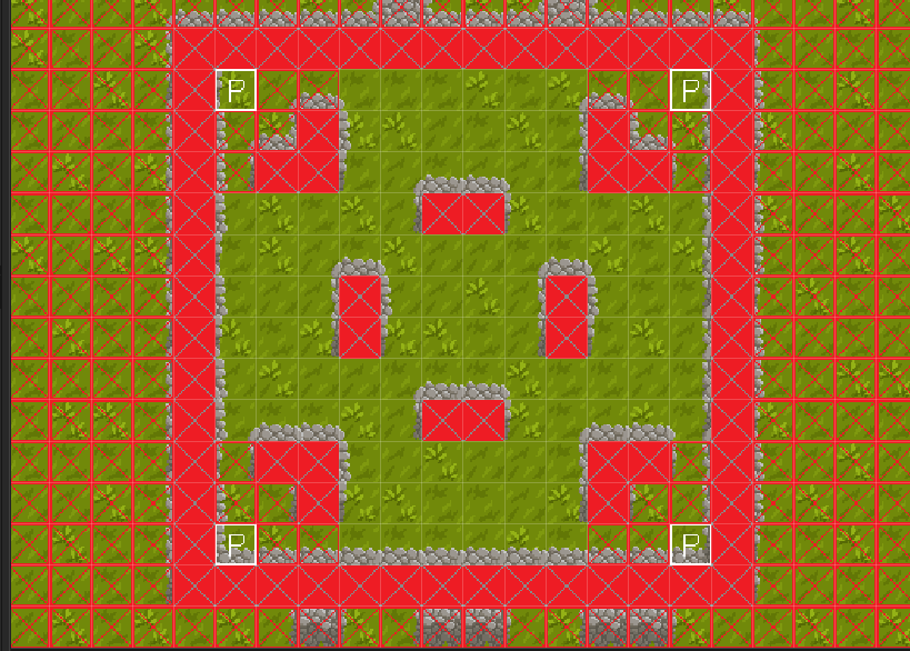 Forest Strike - Player Position