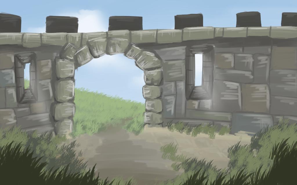 Tales of Vastor - In front of gate