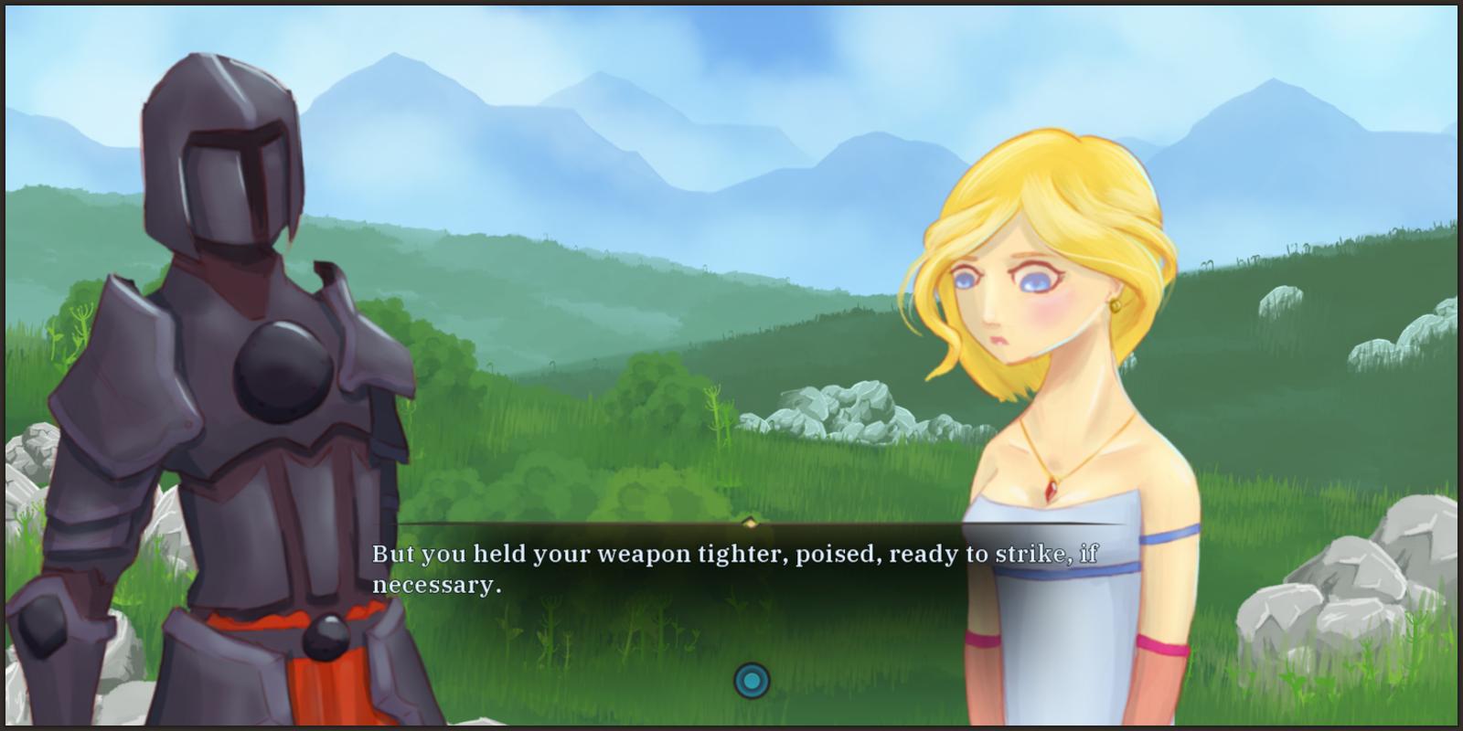 progress - 21 black knight dialogue