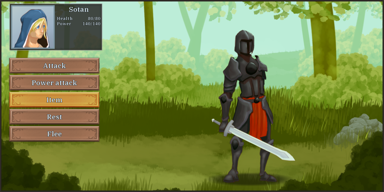 progress - 21 black knight fight