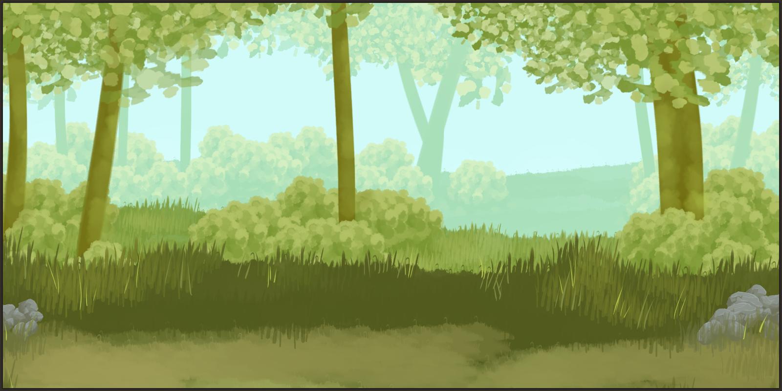 progress 21 - forest