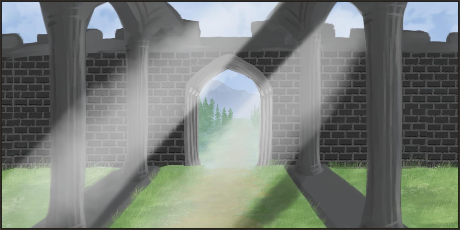 progress 8 - before the gate