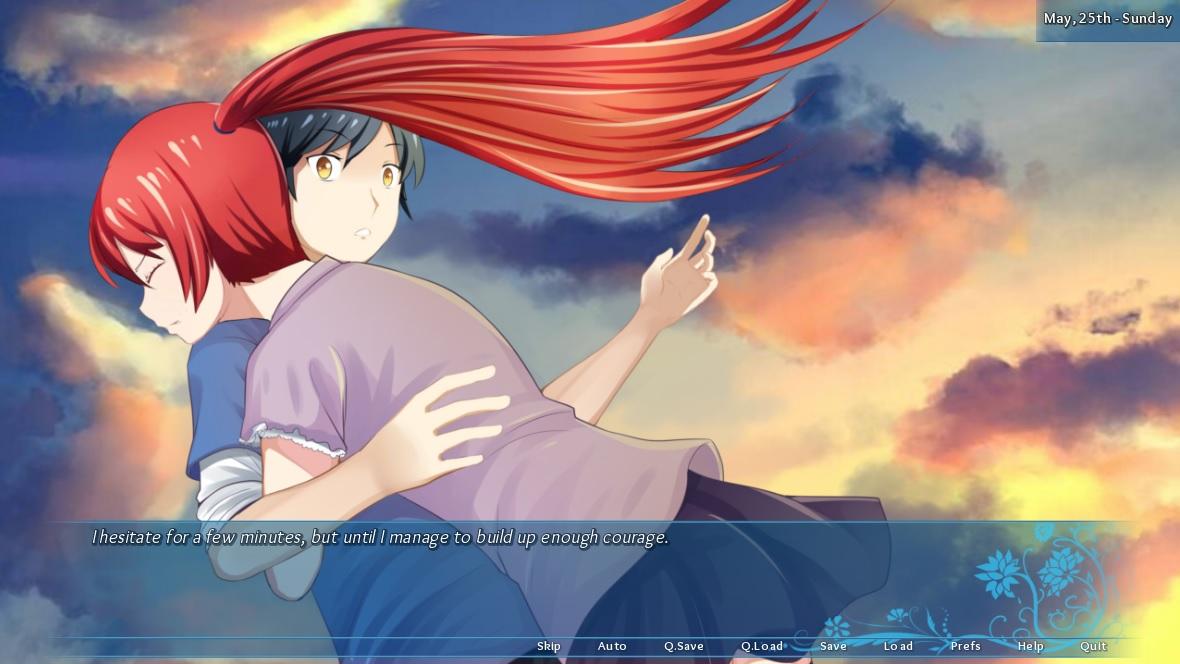 Nayuki hug CG