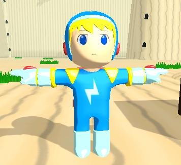 Electroman full body 1