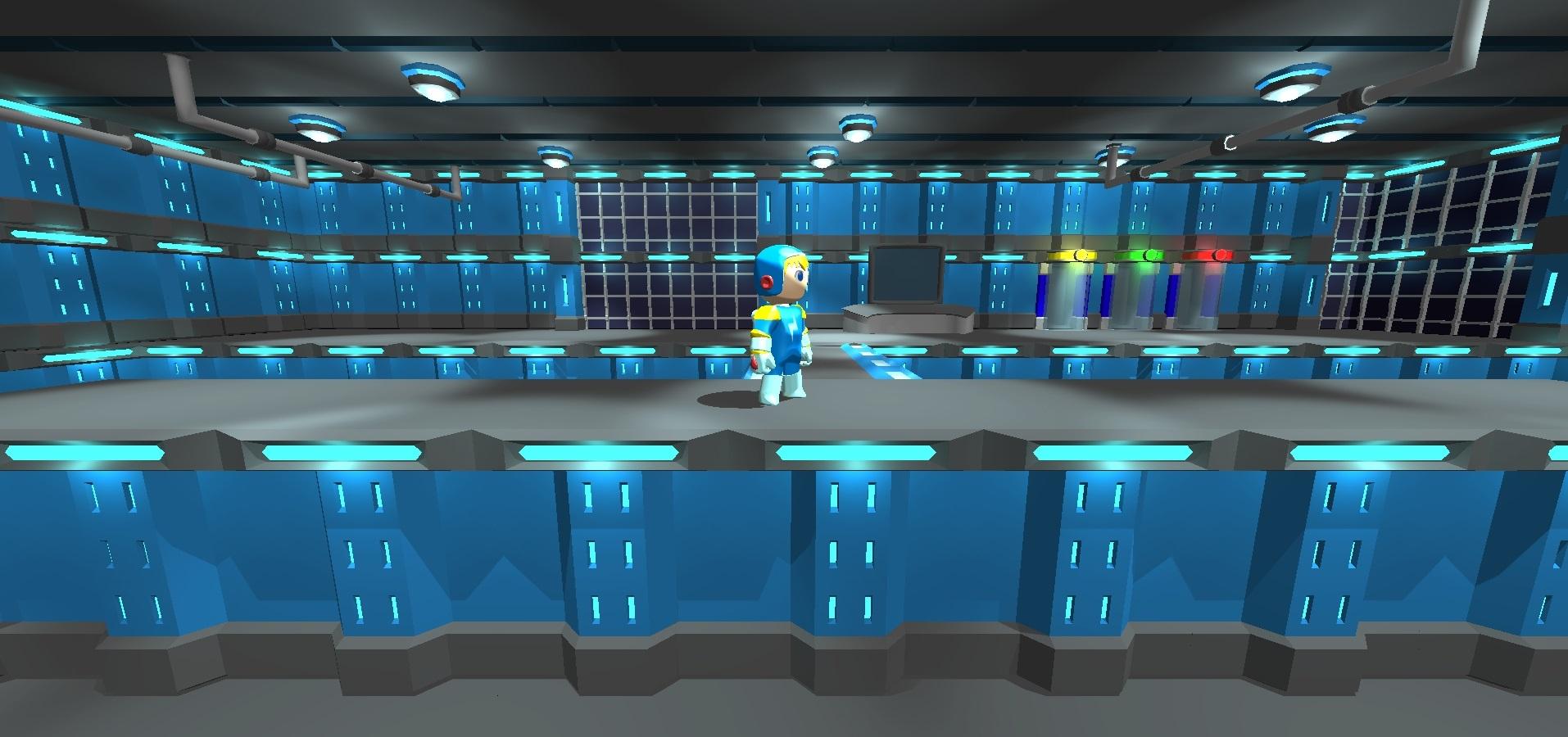 Electroman in orbits lab