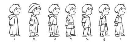 RobinHood characters designs boy