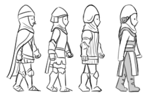 RobinHood characters designs gua