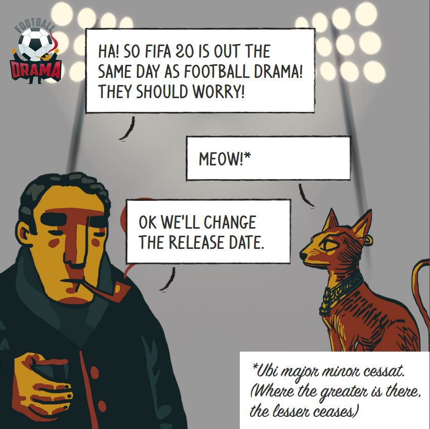 Football Drama will obscure FIFA 20! Or maybe not