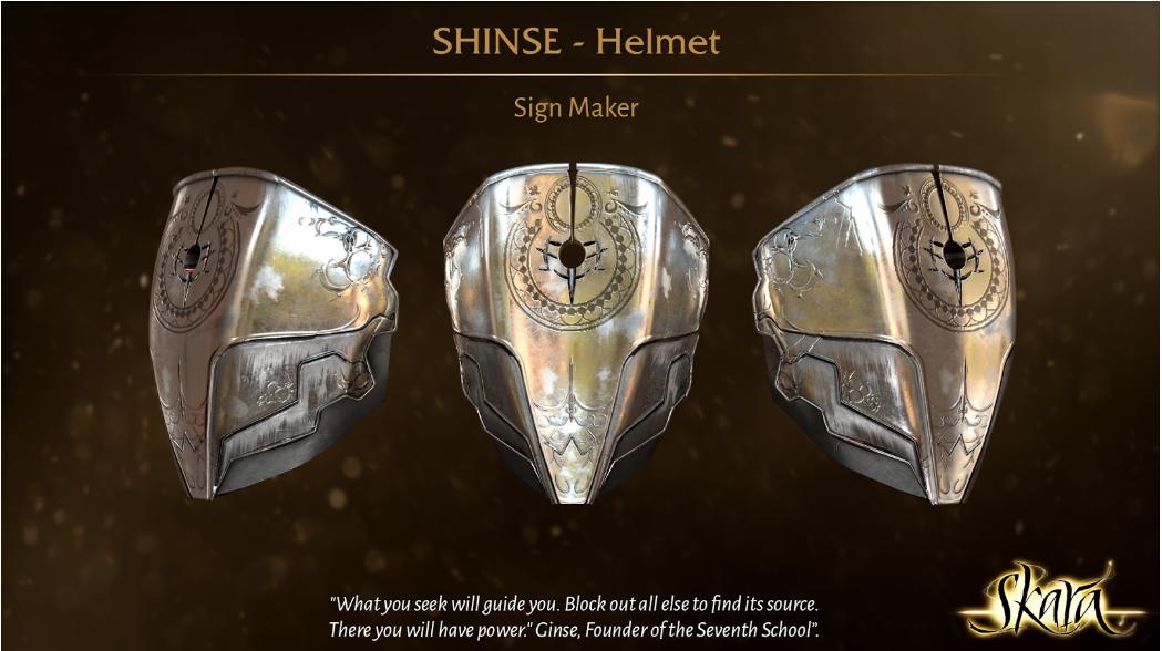 Shinse helmet