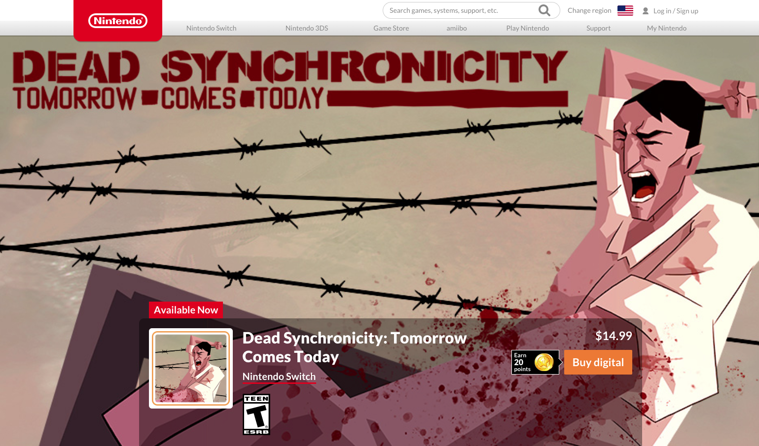 Dead Synchronicity - Nintendo Switch