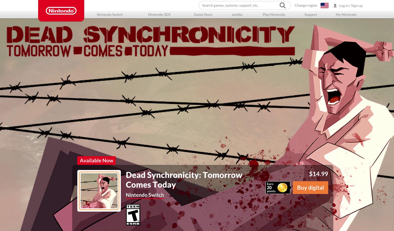 Dead Synchronicity - Nintendo Switch