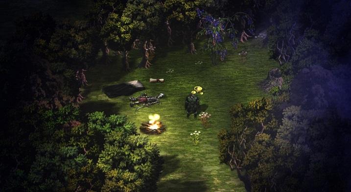 Lords of Xulima Night Time Screenshot