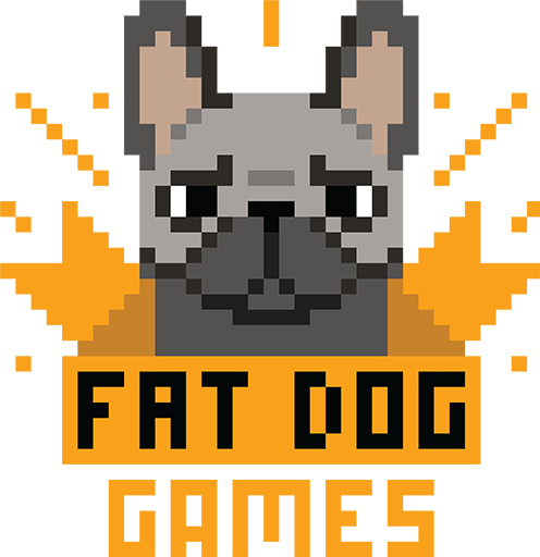 logo fat dog games