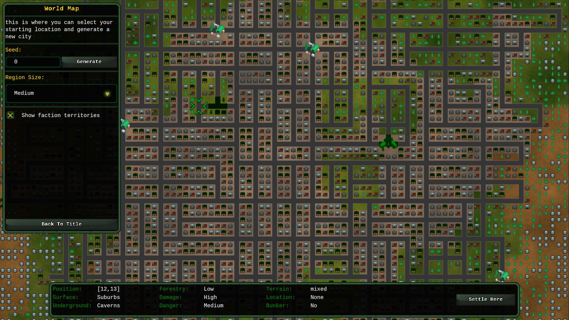 ATC: City Map