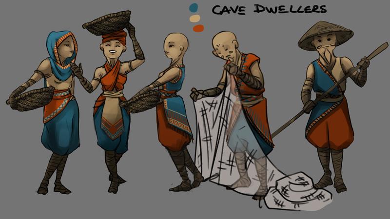 245 cave village people color ti