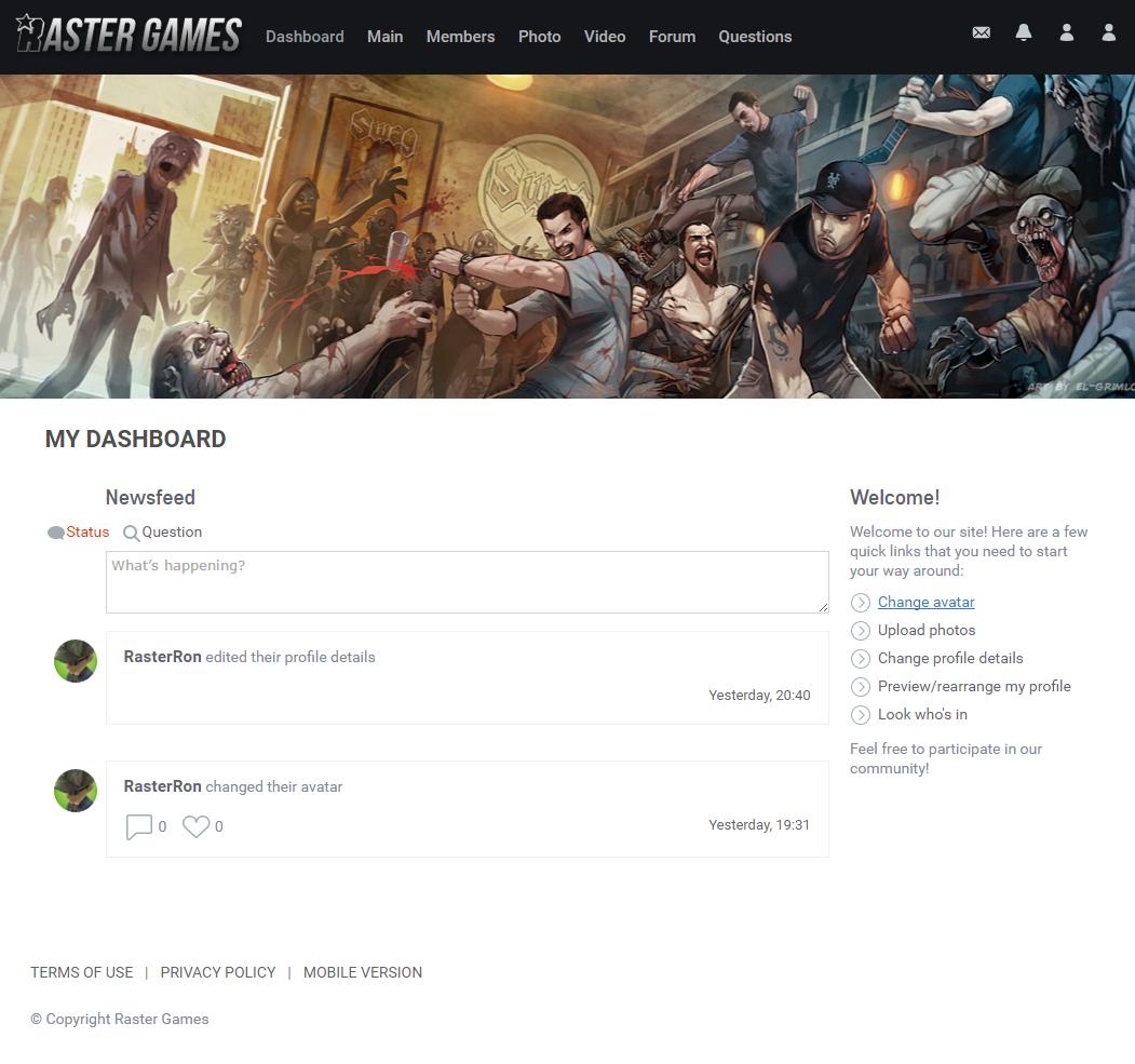 DeadDawn Community Site 2