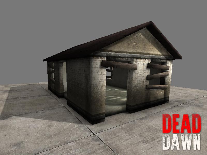 DeadDawn Old Shack Base Structur