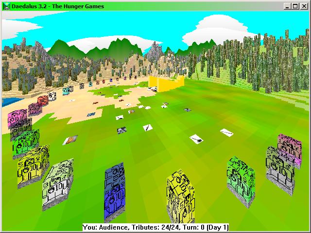 Hunger Games Simulation (Daedalus) Windows - Indie DB