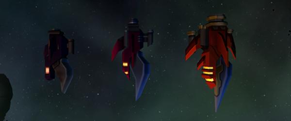 Stardrift Nomads piratetiers