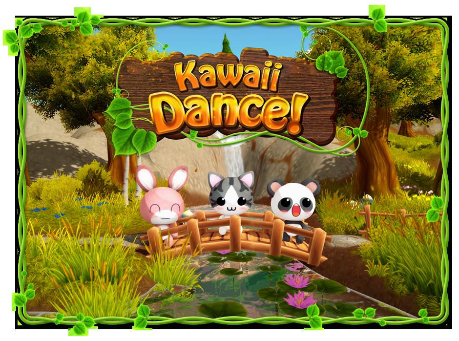 KawaiiDance LogoFrame