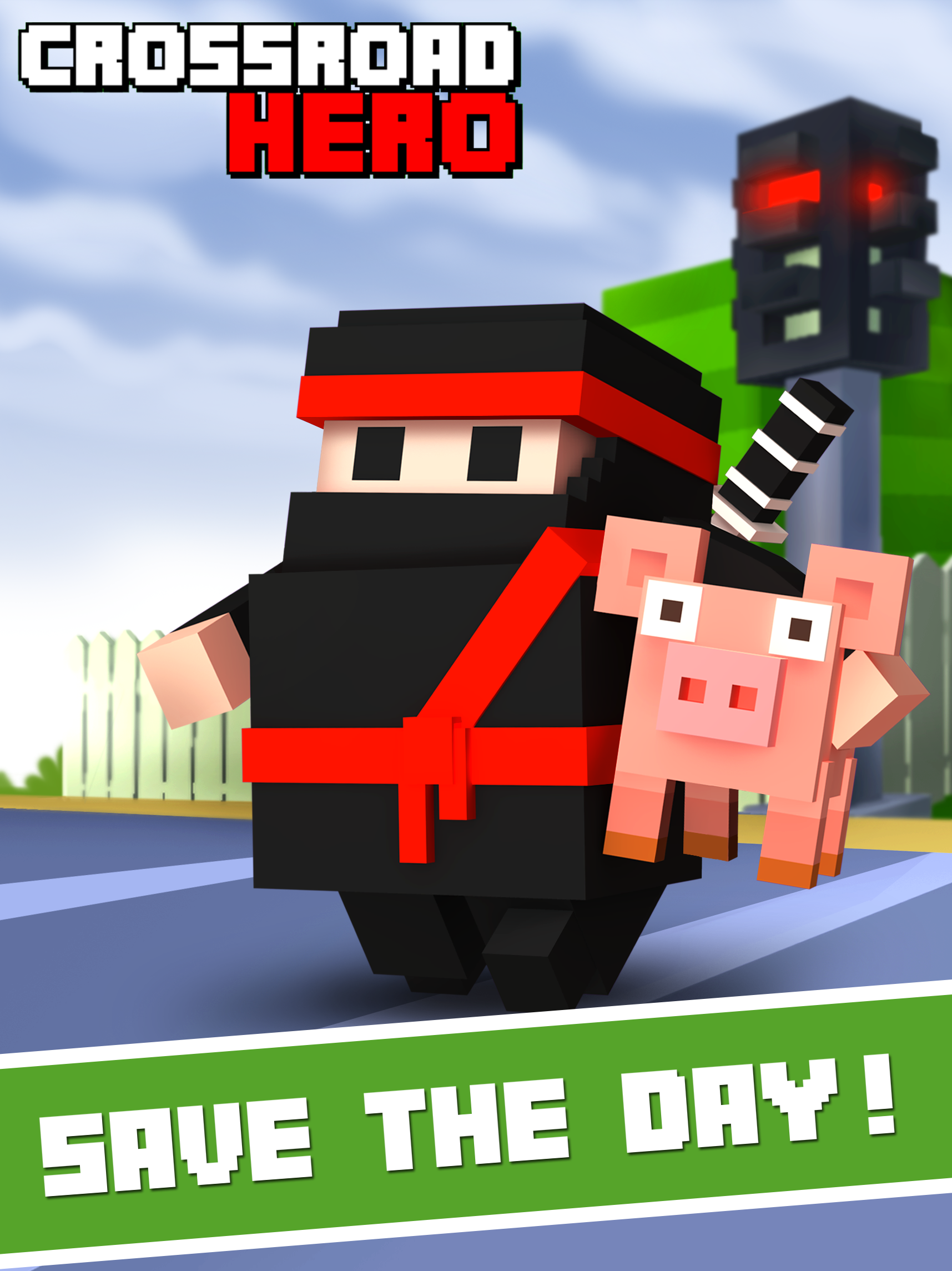 Crossy Road Hero